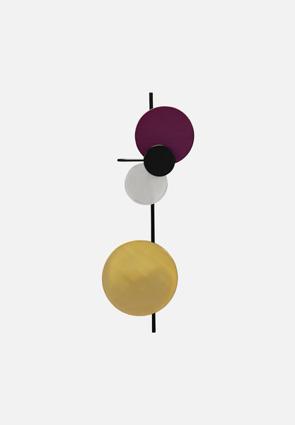 Planet Lamp-Mette Schelde-Please Wait to be Seated-Plum-Average