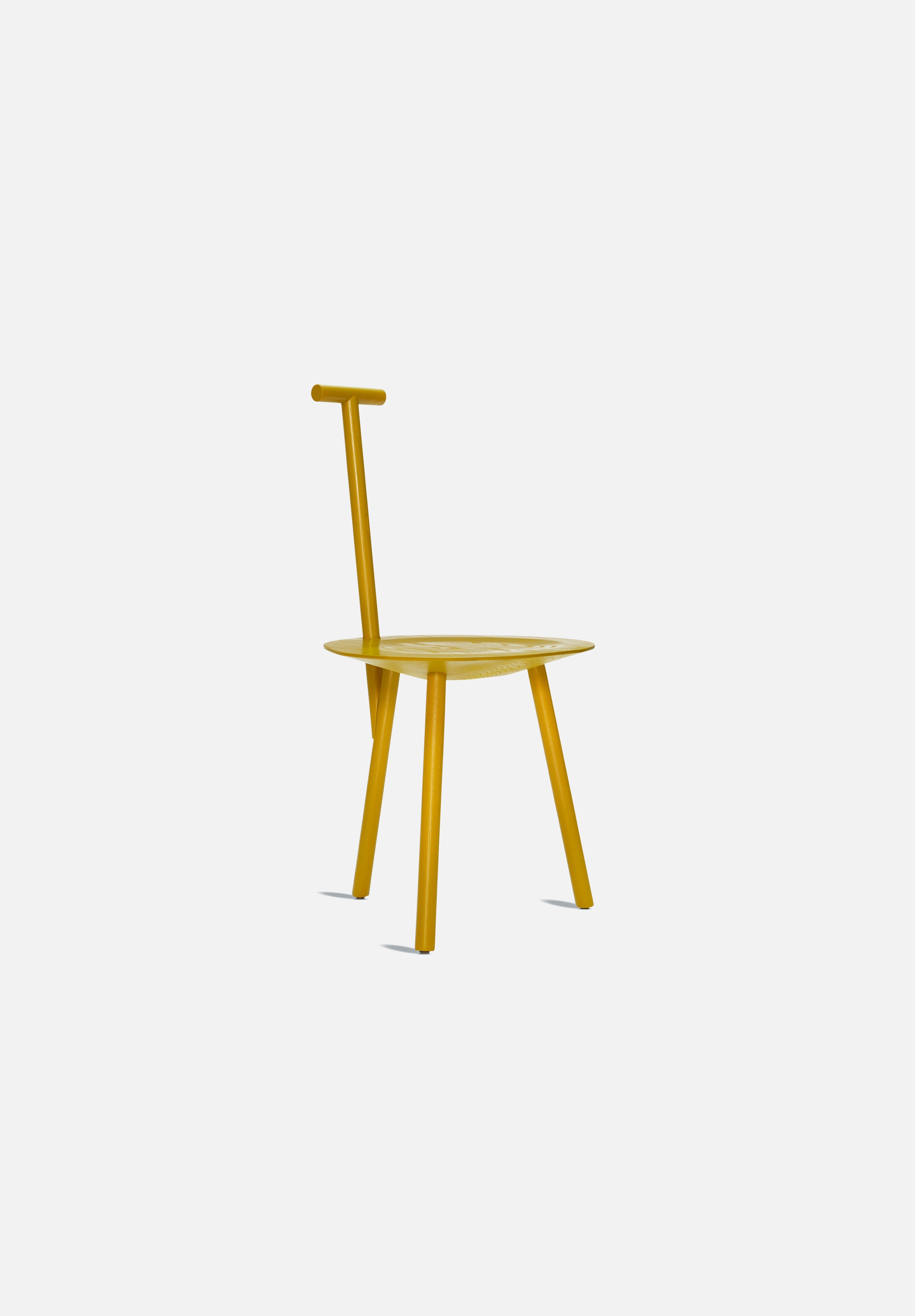 Spade Chair-Faye Toogood-Please Wait to be Seated-Turmeric Yellow-Average
