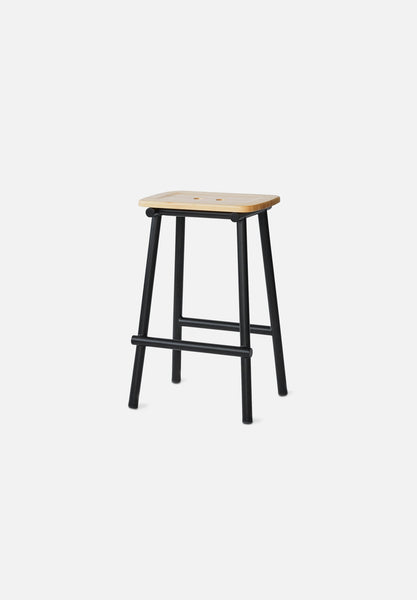 Tubby Tube Bar/Counter Stool — Natural Ash