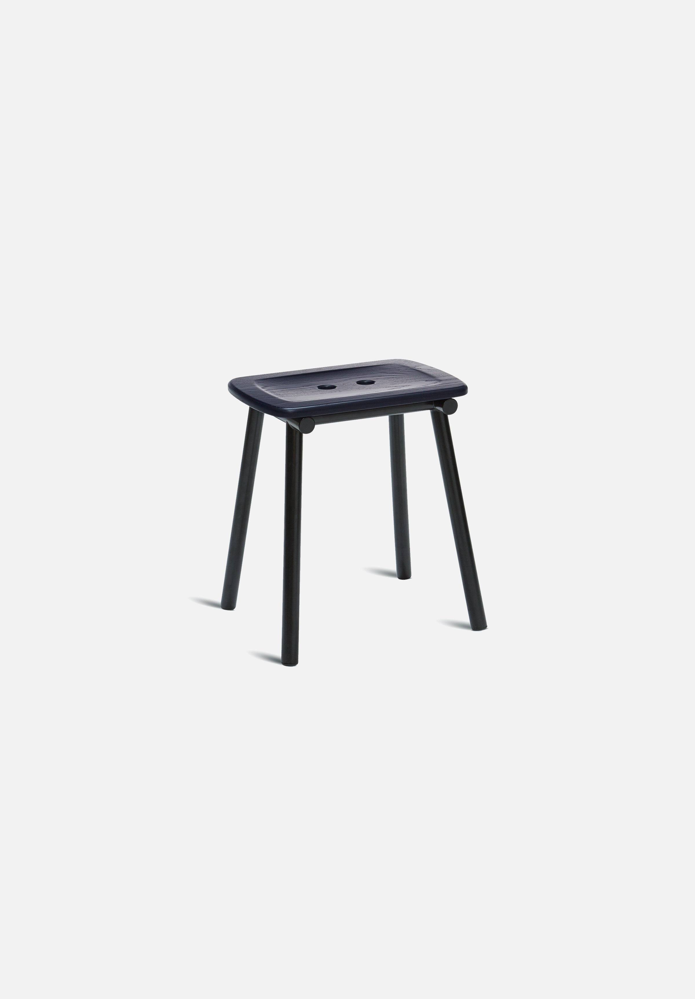 Tubby Stool-Faye Toogood-Please Wait to be Seated-Painted Navy Ash-Average