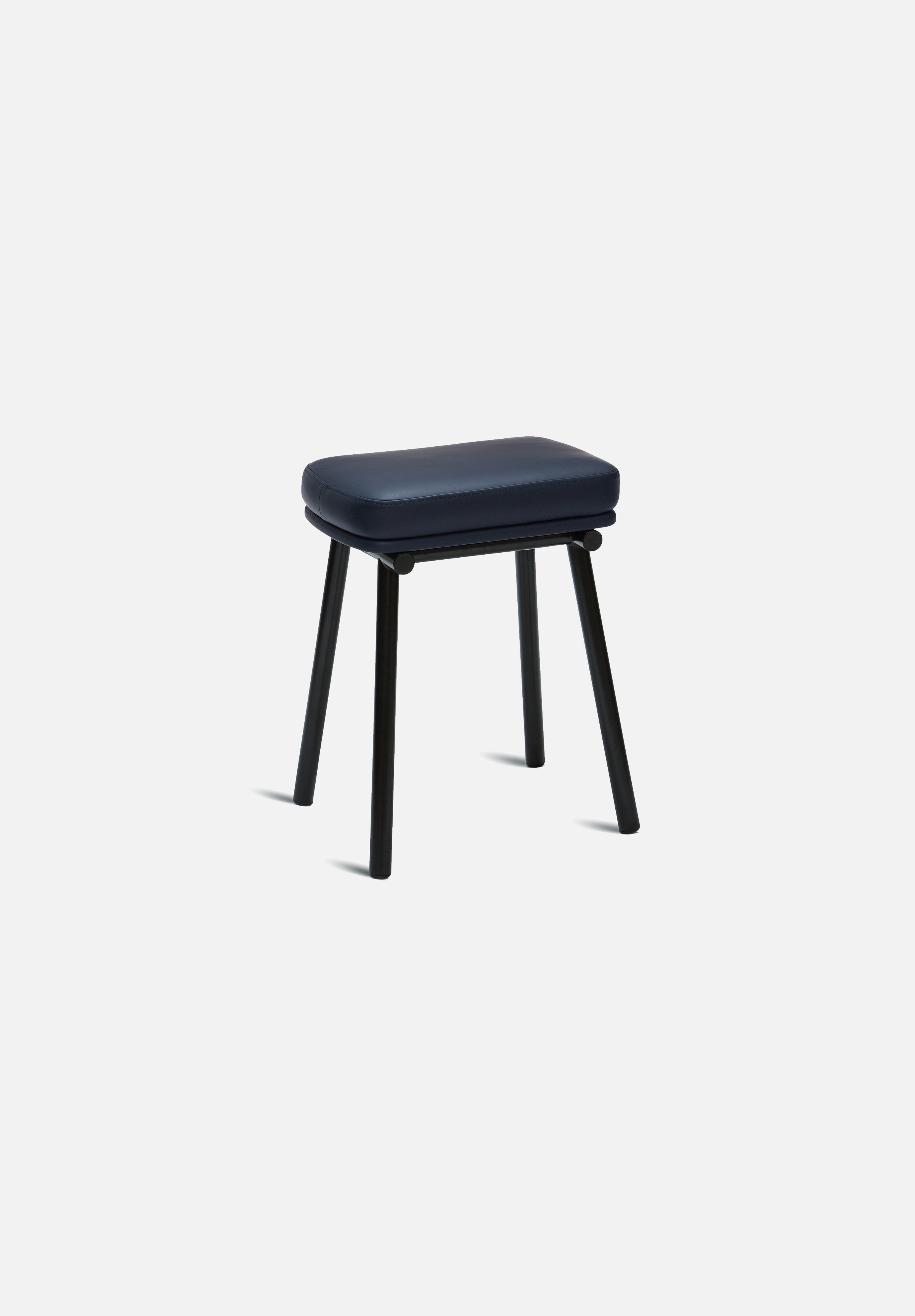 Tubby Stool-Faye Toogood-Please Wait to be Seated-Navy Leather-Average