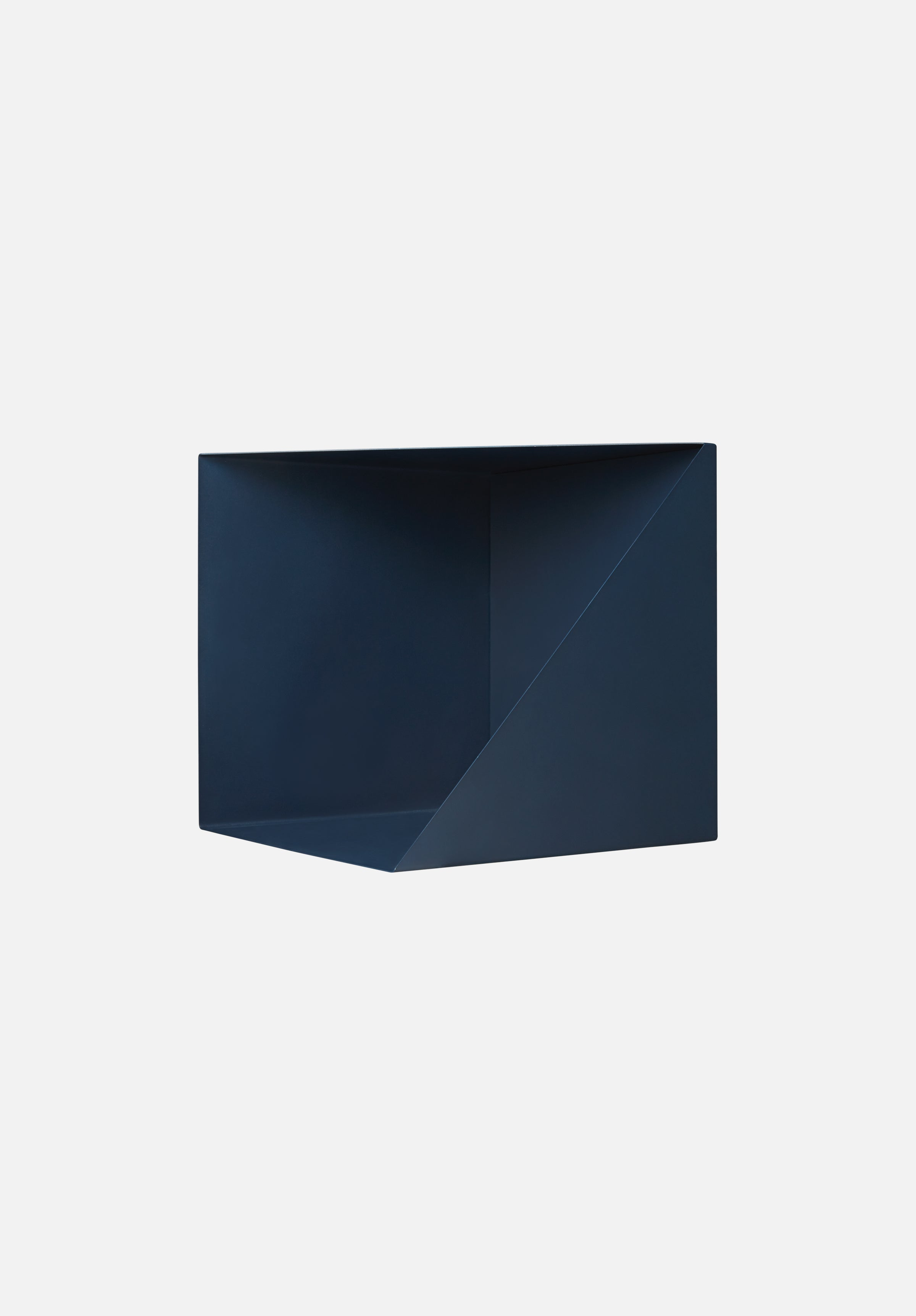 Wall Box-Ludvig Storm-Please Wait to be Seated-Navy Blue-Navy Blue- - Average Toronto Canada Design