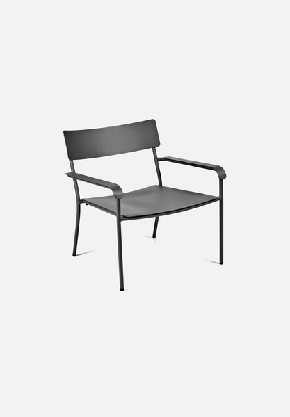 August Lounge Chair — Black