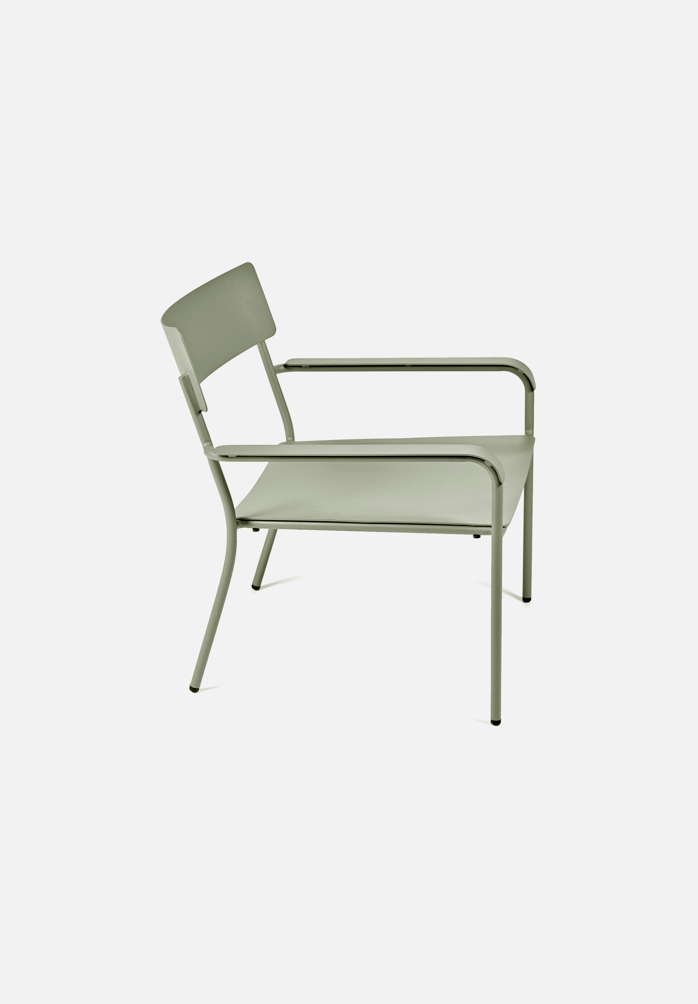 August Lounge Chair — Eucalyptus Green