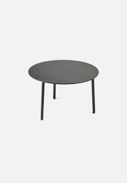 August Side Table — Large Black