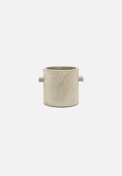 Concrete Pot — 8""