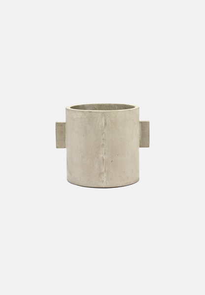 Concrete Pot — 10""