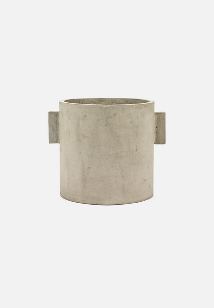 Concrete Pot — 12""