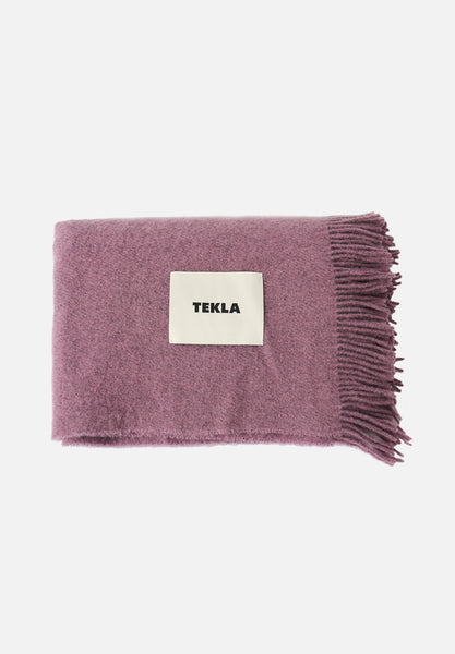 Wool Blanket — Lilac Lavender-Tekla-Average