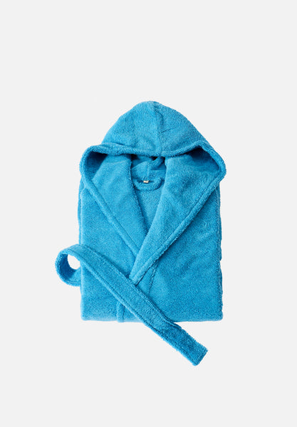 Bathrobe — Morningbird Blue-Tekla-Medium-Average