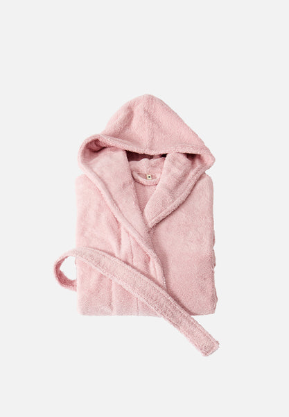 Bathrobe — Stella Pink-Tekla-Small-Average