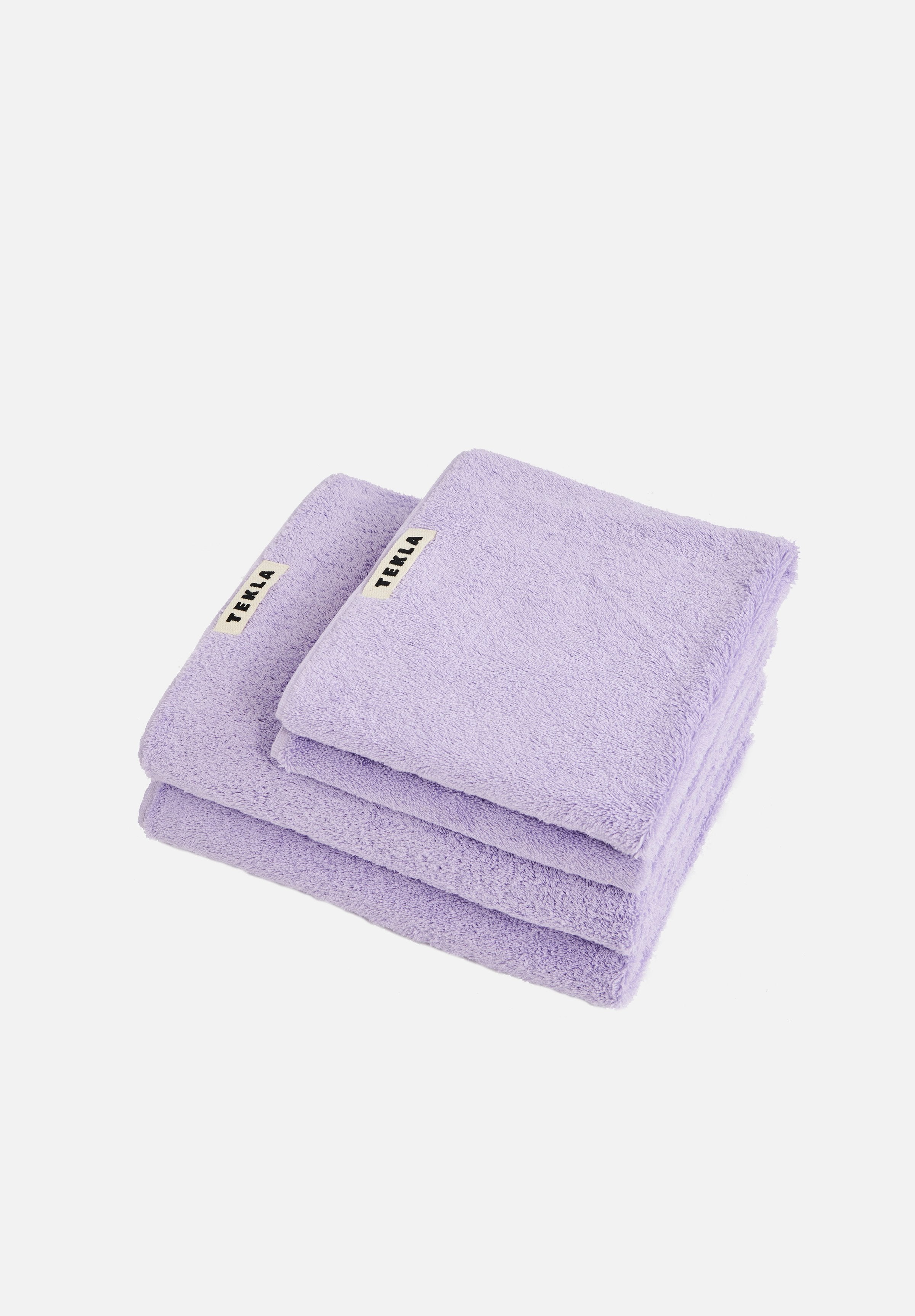 Organic Terry Towels — Lavender