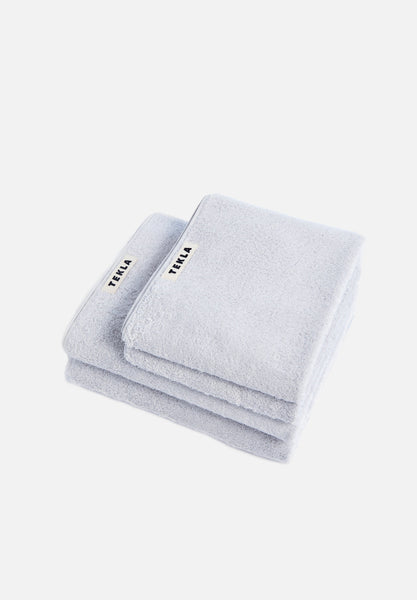 Organic Terry Towels — Lunar Rock-Tekla-Washcloth-Average