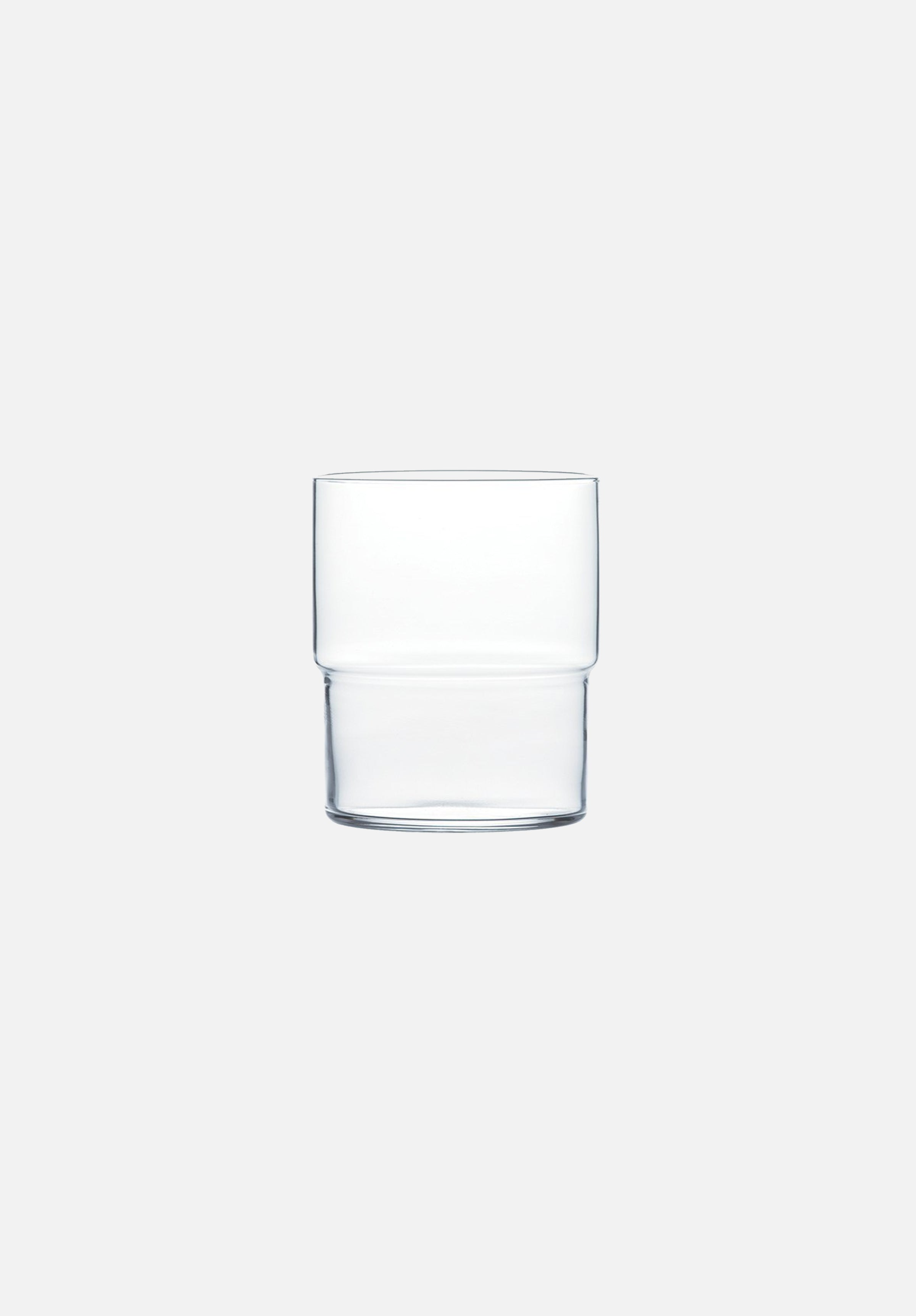 HS Platinum Glass Tumbler — 390ml