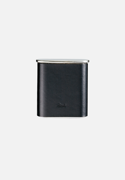 Tasca Pocket Ashtray — Black Leather