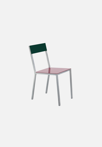 Alu Chair — Burgundy/Candy Green