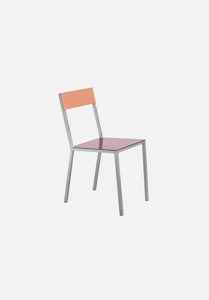 Alu Chair — Burgundy/Pink