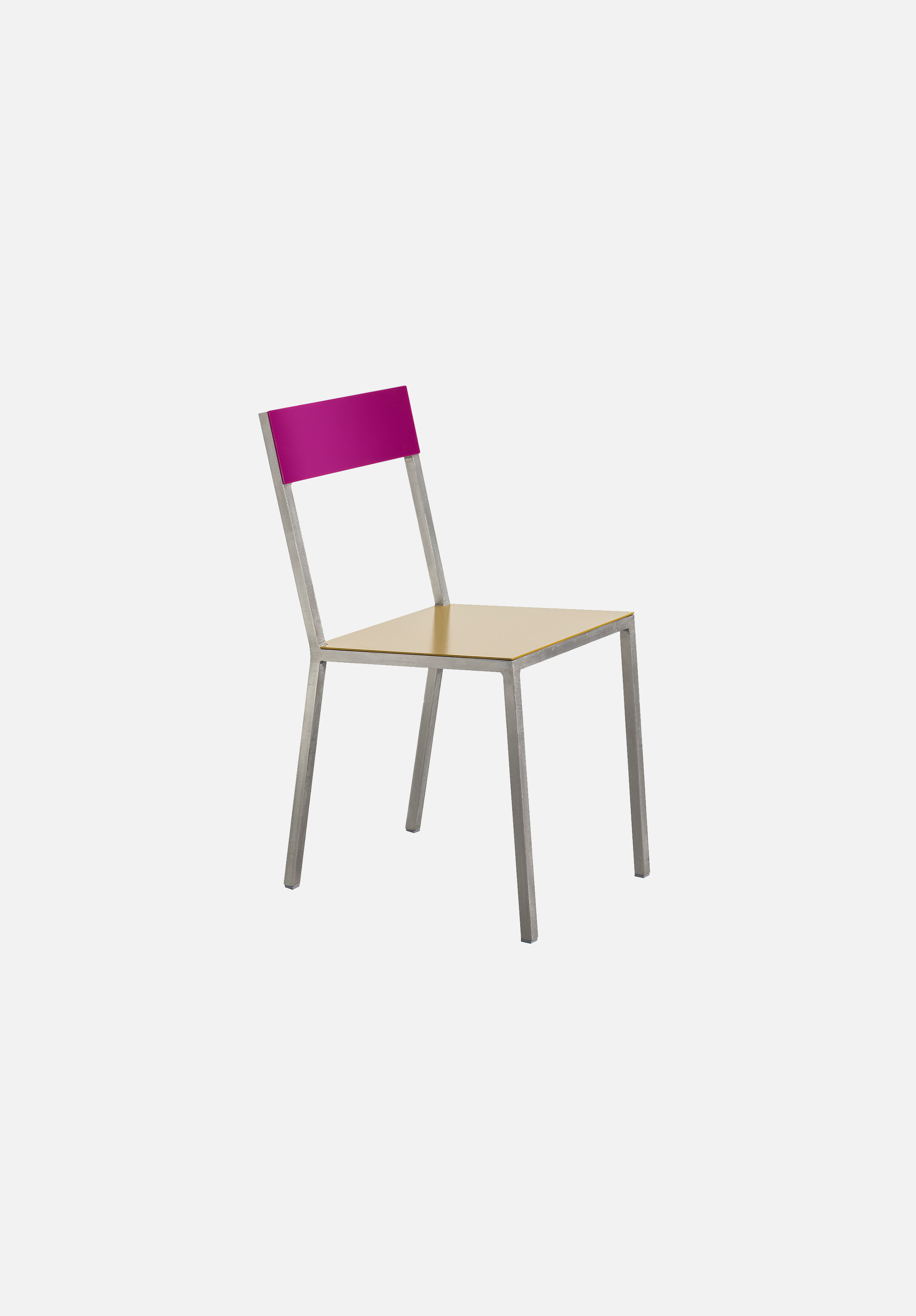 Alu Chair — Curry/Candy Purple