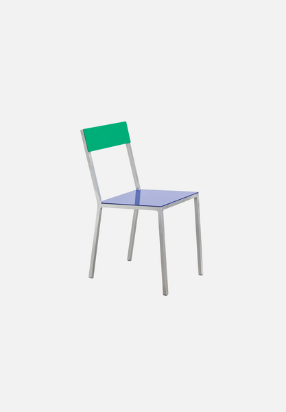 Alu Chair — Dark Blue/Green