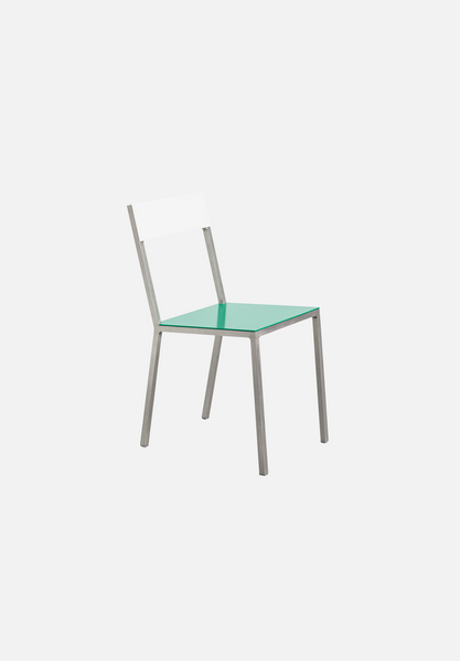 Alu Chair — Green/White