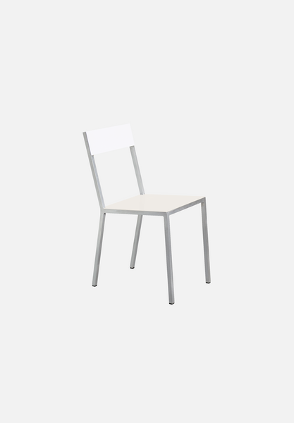 Alu Chair — Ivory/White