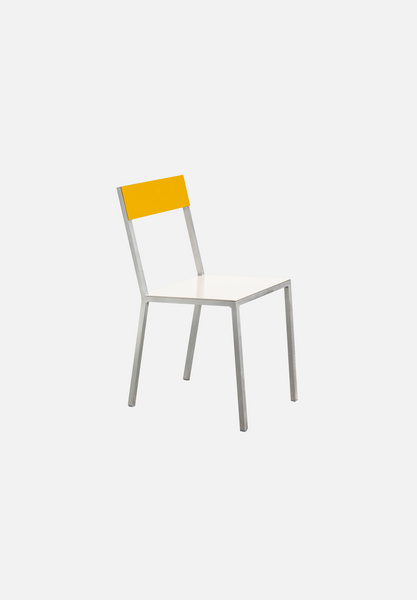 Alu Chair — Ivory/Yellow