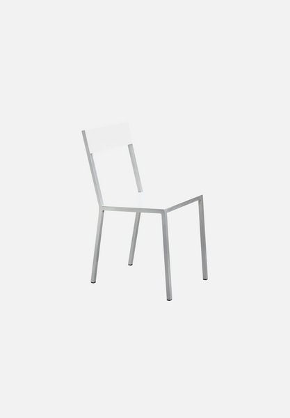 Alu Chair — White/White
