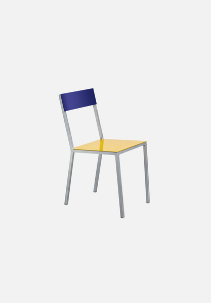 Alu Chair — Yellow/Blue