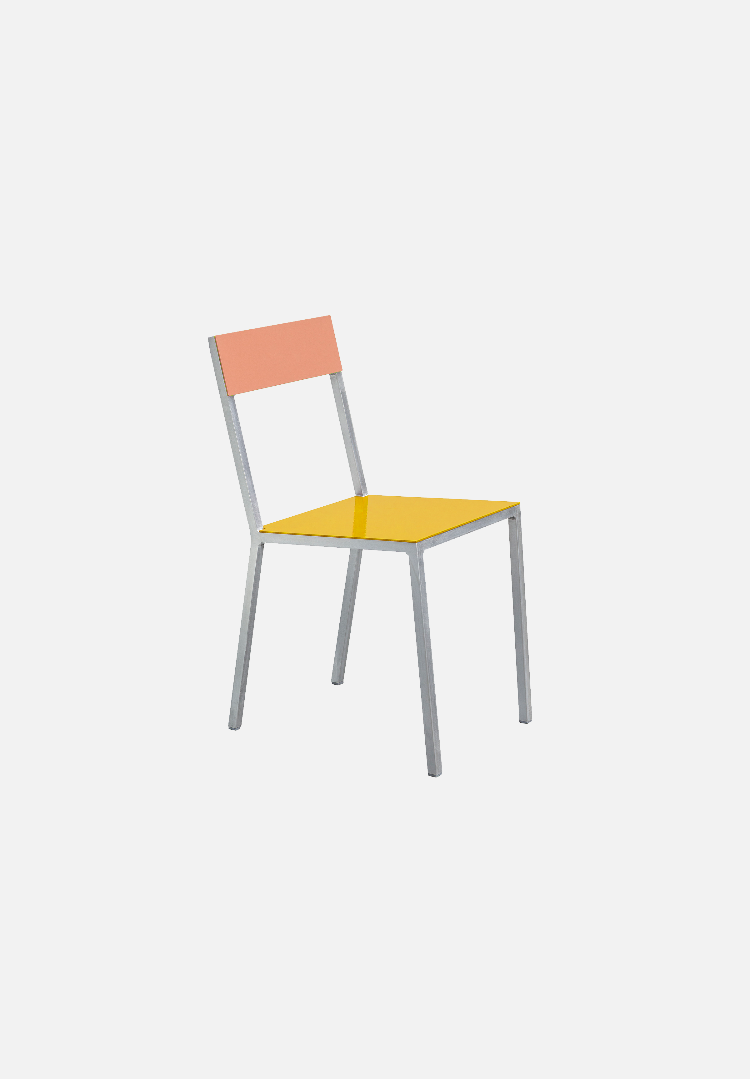 Alu Chair — Yellow/Pink