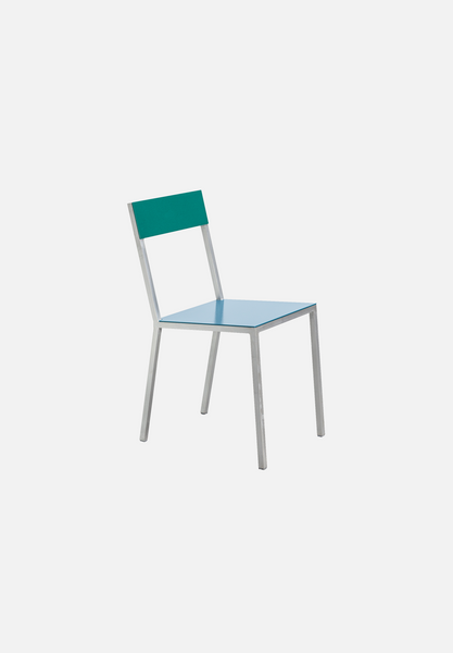 Alu Chair — Hammer Paint Green/Blue