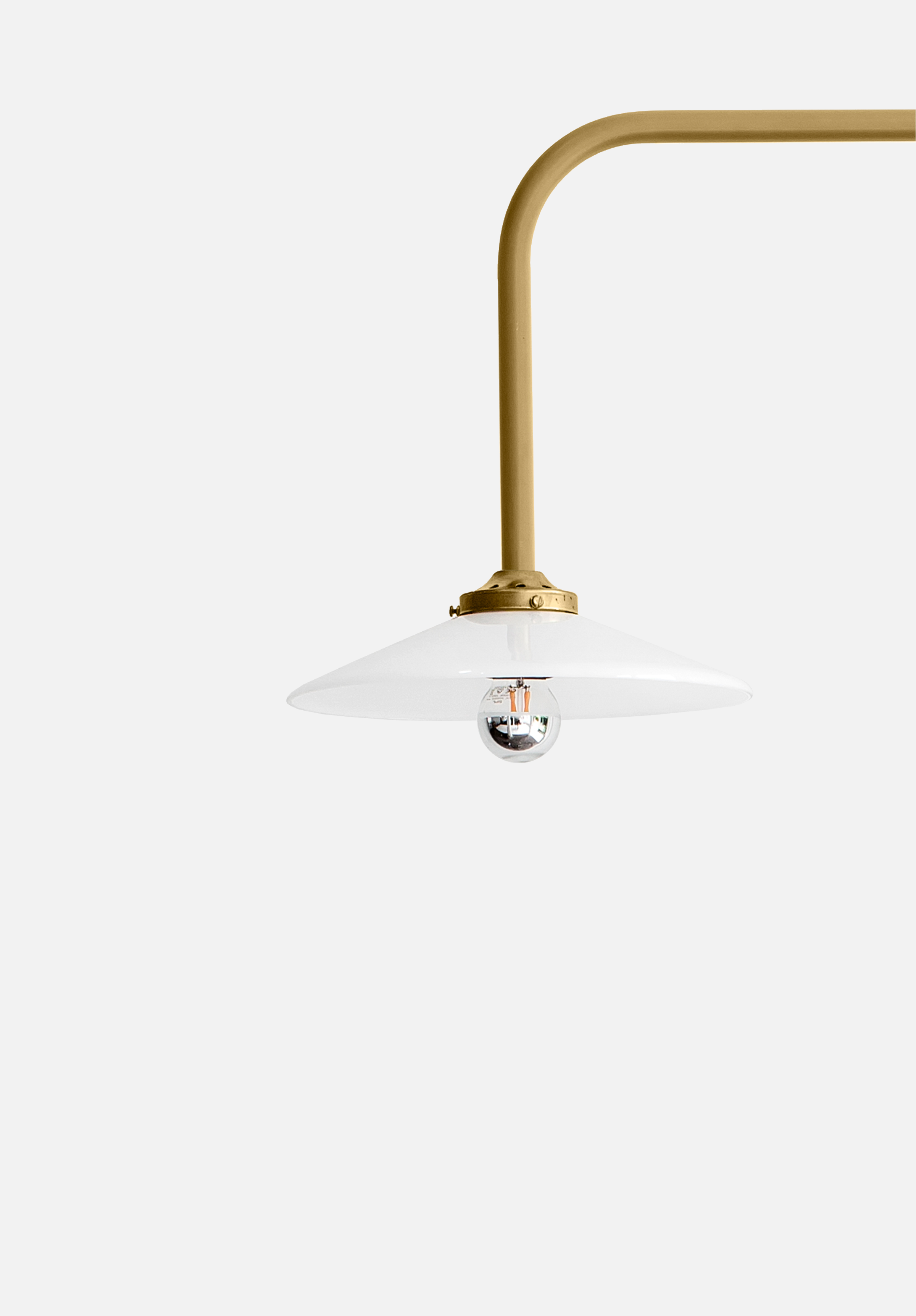 Hanging Lamp N°5 — Brass