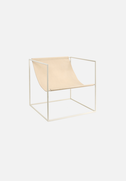 Solo Seat — Cream/Leather