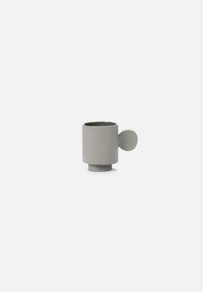 Inner Circle — Light Grey Espresso Cup
