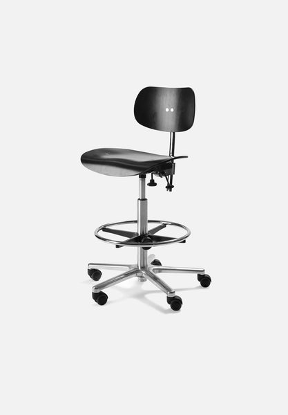 S 197 R — Counter Chair-Egon Eiermann-Wilde + Spieth-Average