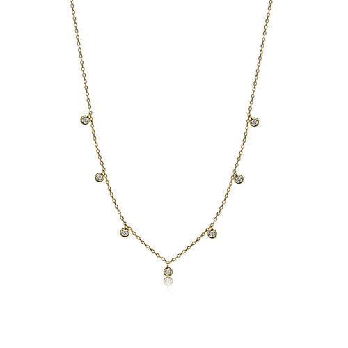 Hayley Droplet Necklace