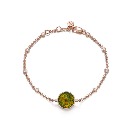 NOUSH SHIRAZ BRACELET IN PERIDOT AND CITRINE