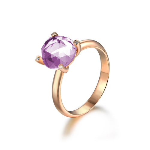Gleaming Lavender Ring