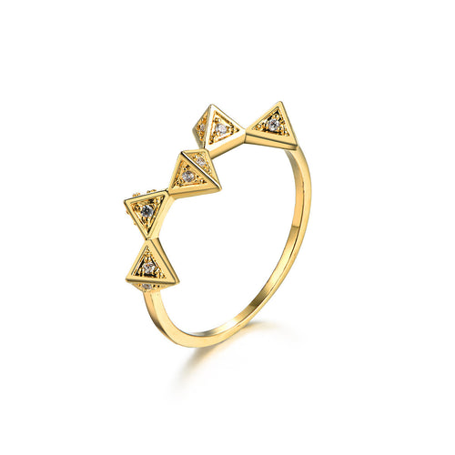 Pyramid Remix Ring