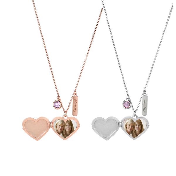 Mommy & Daughter Locket (Set of 2)