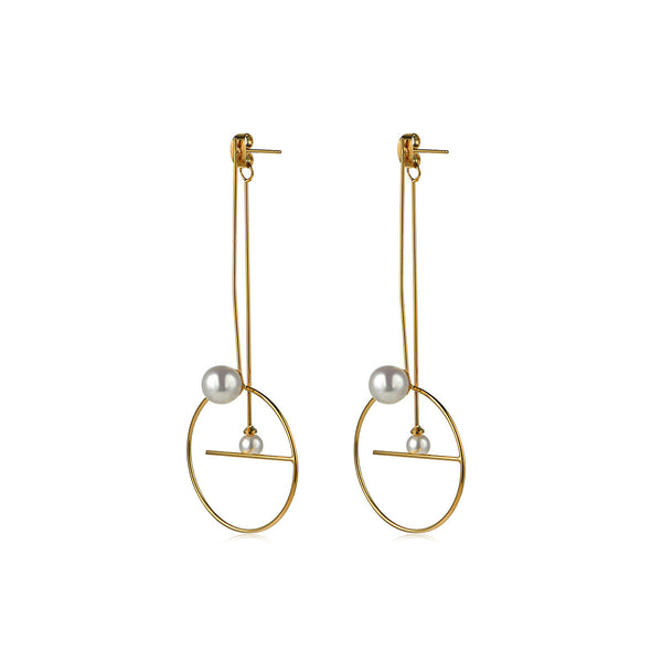 Trapeze Drop Earrings