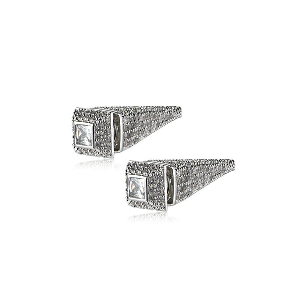 Inverted Pyramid Earrings