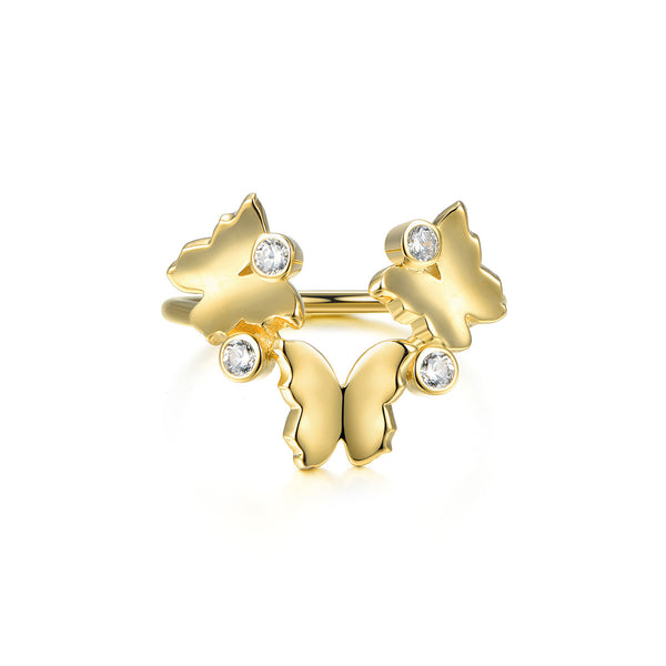 Strength in Numbers Butterfly Ring