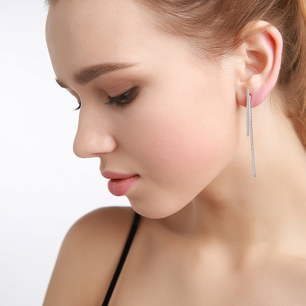 High-Low Earrings