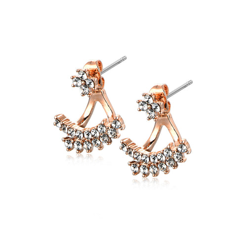 Rhinestone Swing Earrings