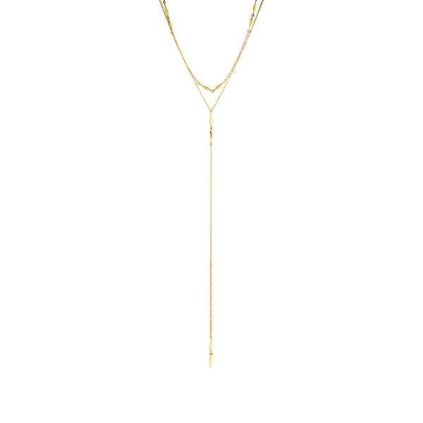 The Long Nights Lariat Necklace