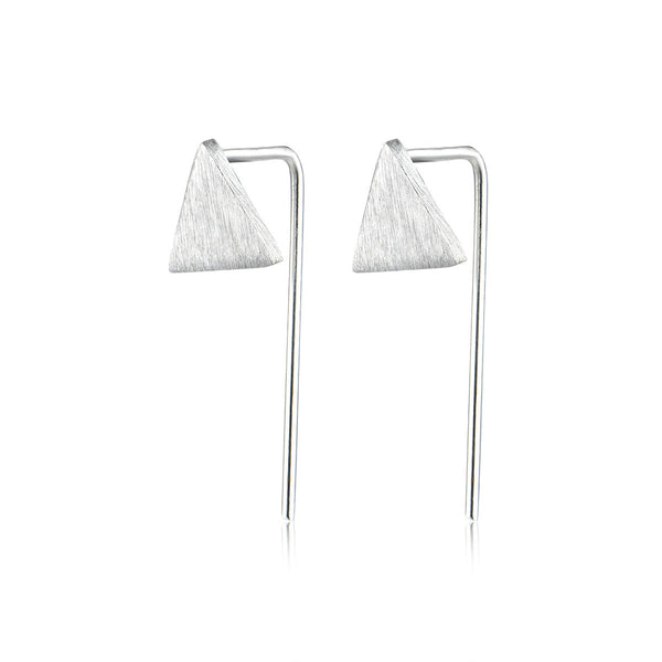 Triangle Drama Earrings