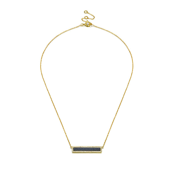 Black Band Necklace