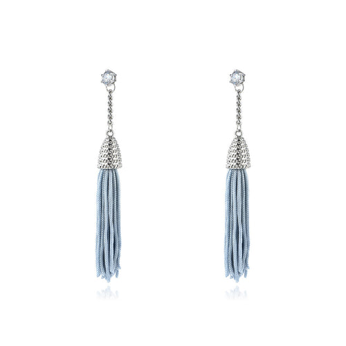 Poseidon Tassel Earrings