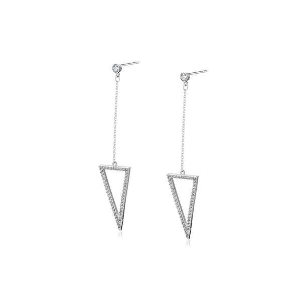 Triangle Minimalist Earrings