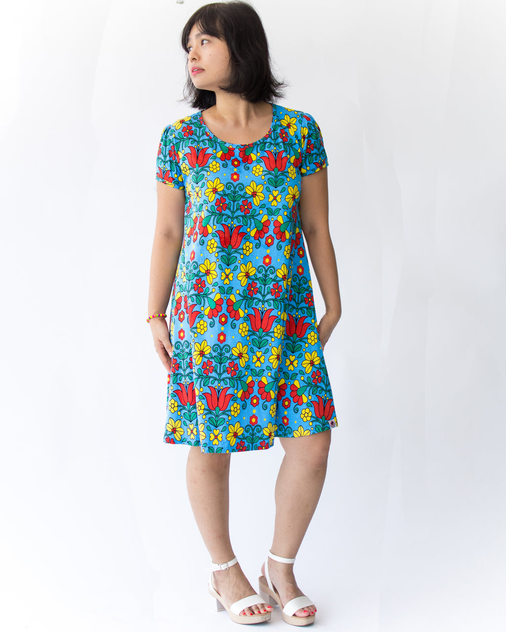 Adult Gabriella Dress - Roses & Rhinos